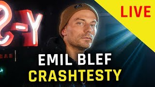 Download lagu EMIL BLEF - CRASHTESTY | NA ŻYWO W Y-STUDIO #22