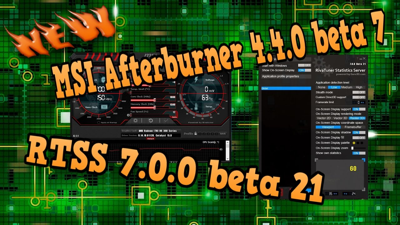 Download afterburner 4 4 0 beta 16 | MSI Afterburner 4 4 0 Download