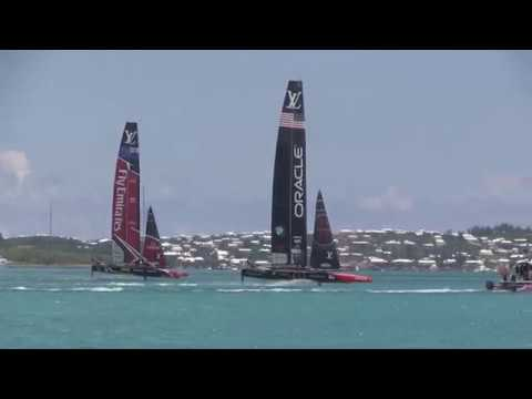 America's Cup Match Finals, Race #9 Teams:  USA vs New Zealand