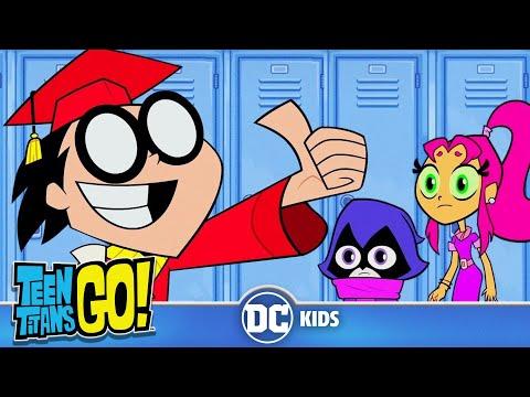 Teen Titans Go! En Español | Te llevamos a la escuela | DC Kids