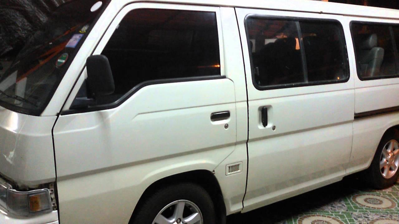 E24 Nissan Urvan E24 Fix