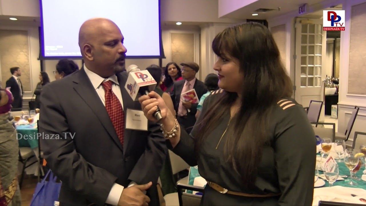 Mani Manickavelu Finalist at Immigrants Journey Awards speaks to DesiplazaTV | #IJAwards2018