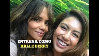 Halle Berry Live With Body By Gia 2017