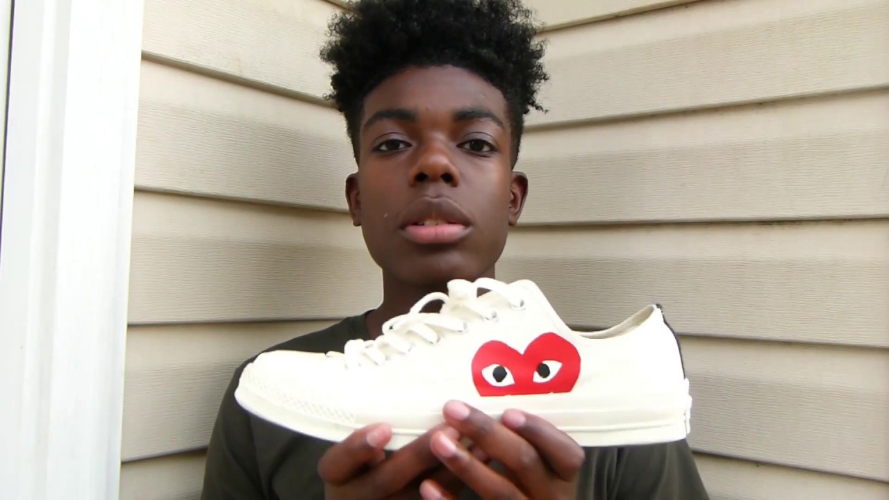 Comme Des Garcons Play X Chuck Taylor/All-Star Review | EastSneakz