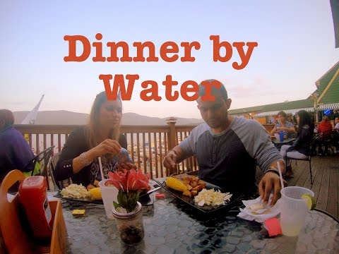 Evening Romantic Dinner by Lake George, New York (4th of July)
