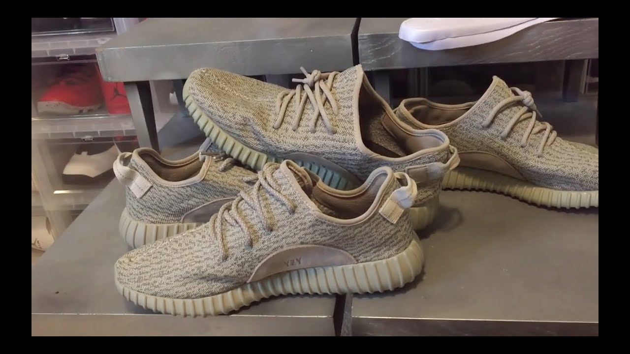 10ee6c03ab056 THE BEST REAL VS. FAKE YEEZY BOOST 350 MOONROCK COMPARISON ON YOUTUBE