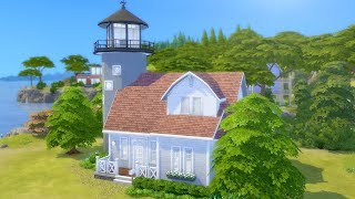 Building a Lighthouse in The Sims 4 (Streamed 3/17/19)