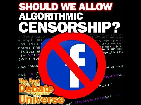 Podcast: Should we allow algorithmic censorship? Best Debate #47