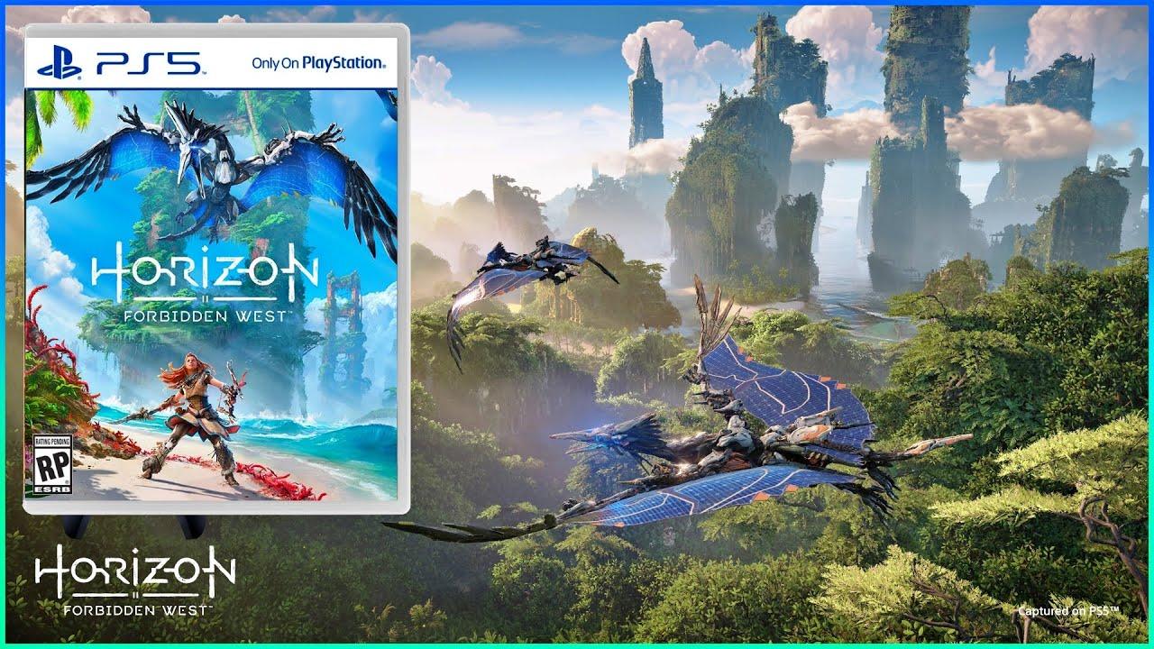 Playstation 5 : Le plus beau jeu ? HORIZON FORBIDDEN WEST