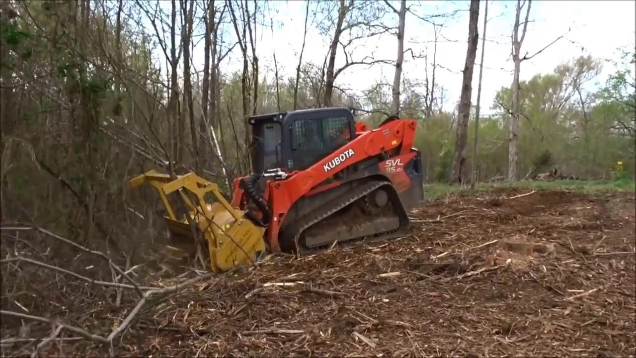SEPPI Forestry mulcher MINIFORST cl for loaders 47-100 HP