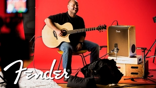 Behind the Scenes: Andy McKee on the Fender Acoustic Pro Amp Series
