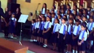Vía Crucis y Concierto Sacro de las escuelas del Municipio Santa Rita 2015