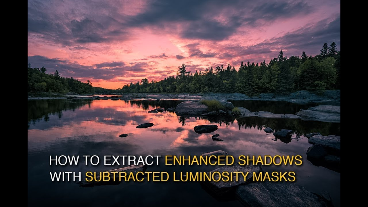 How to Extract Enhanced Shadow Detail with Subtracted