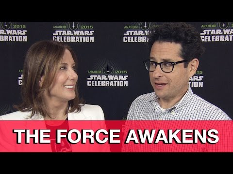 Star Wars The Force Awakens Interview - J.J. Abrams & Kathleen Kennedy