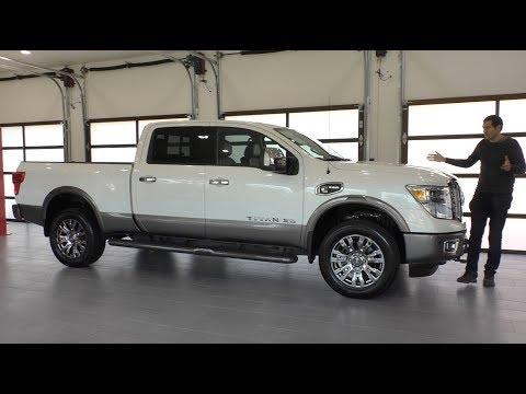 Here's a Tour of a $65,000 Nissan Titan Platinum Reserve Diesel