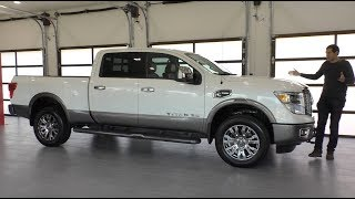 Here's a Tour of a $65,000 Nissan Titan Platinum Reserve Diesel