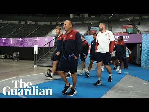 Tearful, nervous, excited: Jones shows emotions on eve of England's kick-off