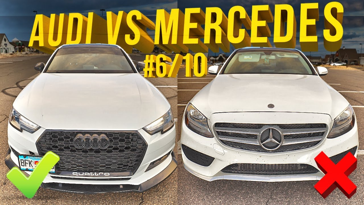 Audi A4 B9 VS Mercedes Benz C300 - The Ultimate Comparison Battle!
