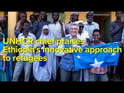 UNHCR chief praises Ethiopia's innovative approach to refugees