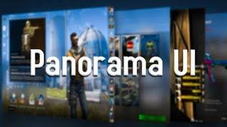 PANORAMA UI is Here! - User Interface Overhaul (CS:GO Update)