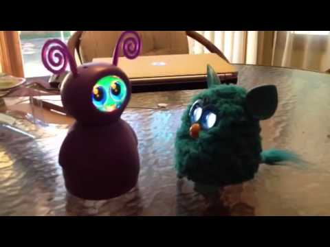 Furby Meets Fijit Friend Youtube
