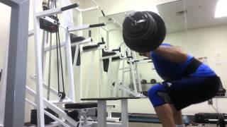 Paused Squat - 245 pounds/111.36 kg Set 4/4