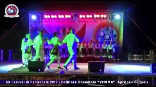 "XX Festival di Pentecoste -  Folklore Ensemble ""VIDIMA""  A…"