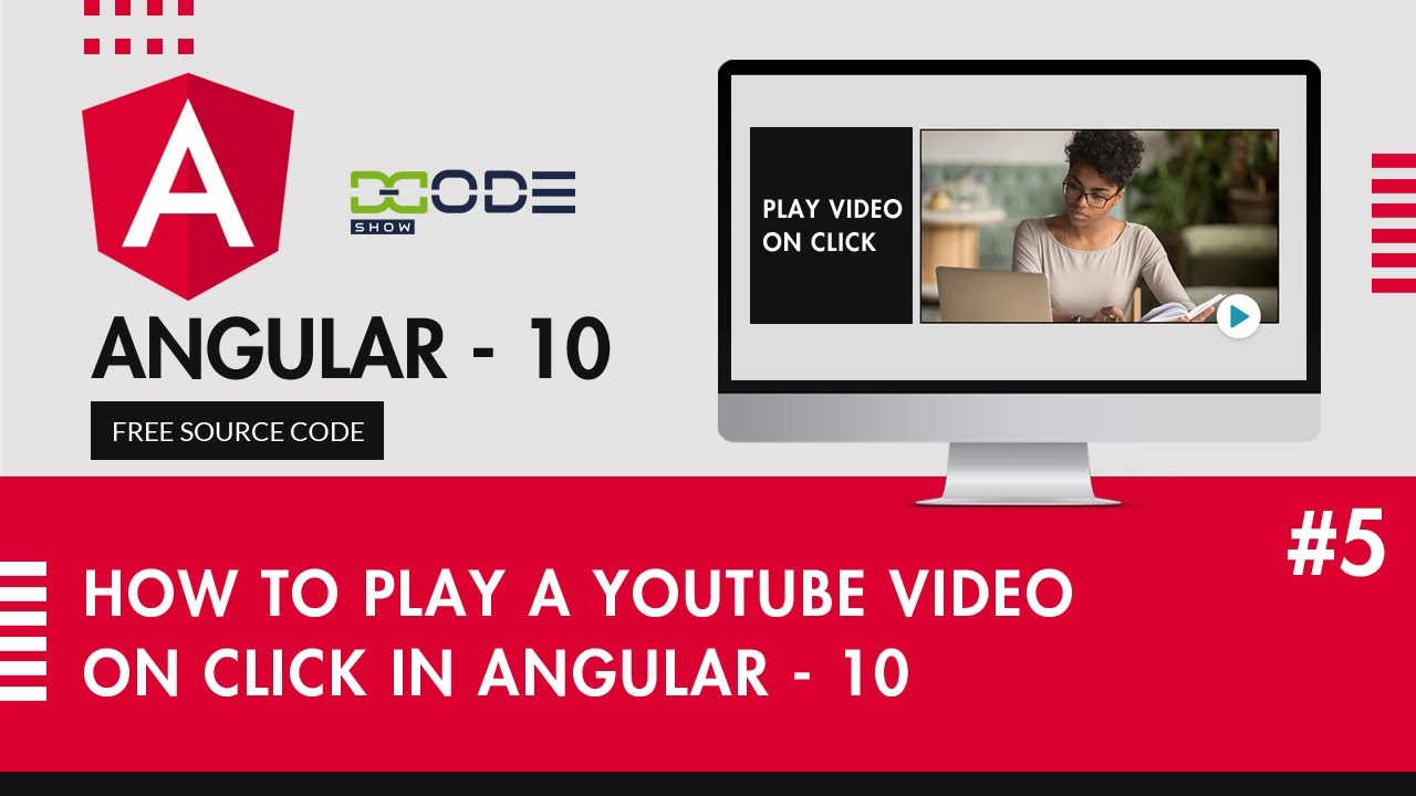 How To Play A YouTube Video On Click In Angular 10 | Onclick Play Video