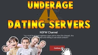 Trolling Underage Discord Dating Servers
