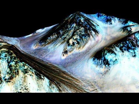 كوكب المريخ : ناسا تؤكد بالصور وجود الماء في كوكب المريخ