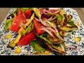 Юлия Высоцкая — Осенний салат из баклажанов с помидорами