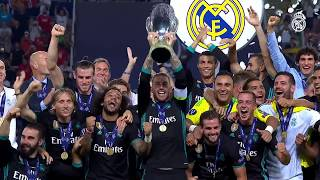 CHAMPIONS of the 2017 UEFA SUPER CUP!