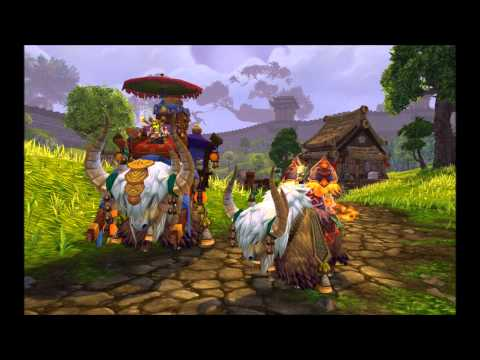 All new Mists of Pandaria Mounts Beta [High Quality]