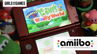 Testing Amiibos with Poochy & Yoshi's Woolly World on Nintendo 3DS