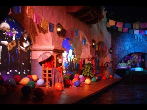 Gran Fiesta Tour Starring The Three Caballeros Complete Experience HD Epcot Walt Disney World
