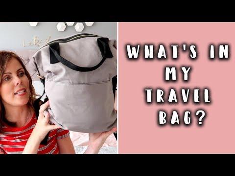 WHAT'S IN MY TRAVEL BAG? MY FLIGHT ESSENTIALS
