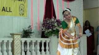 Mohiniattam by Sunita Menon ::: Onam 2012 ::: Keraleeya Samajam, Andheri (West)