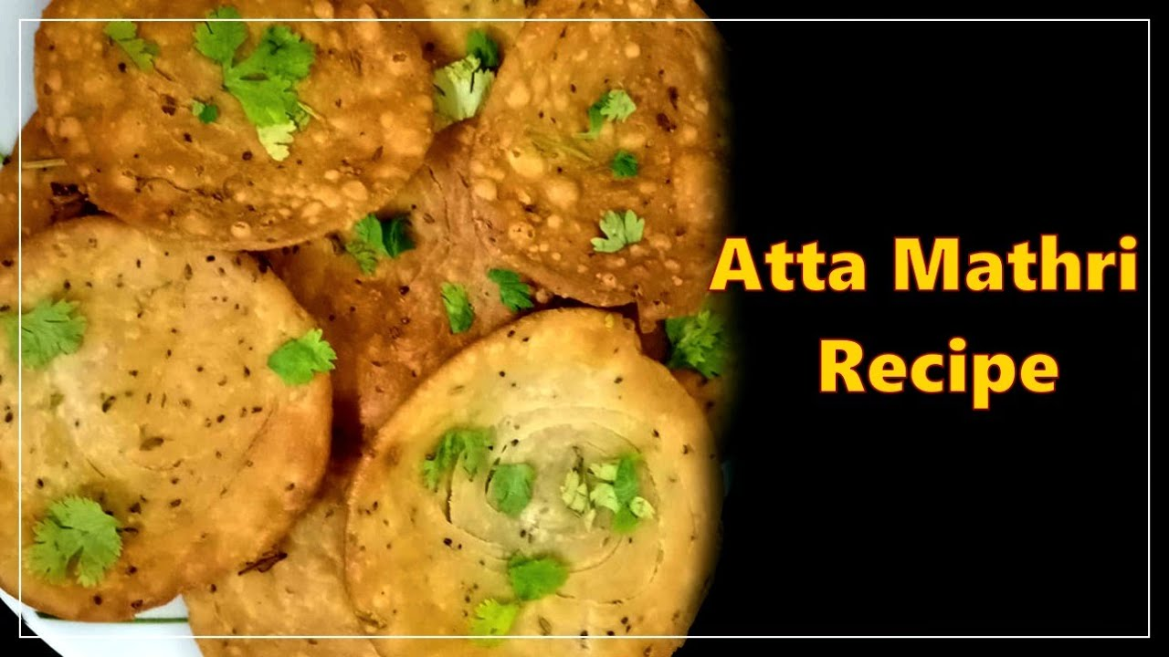 Atta mathri recipe | How to make wheat flour mathri with detailed steps