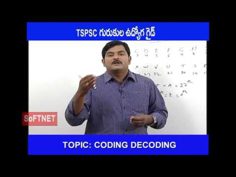 GURUKULAM ||Mental Ability ||CODING DECODING -1||G. Prashanth Reddy