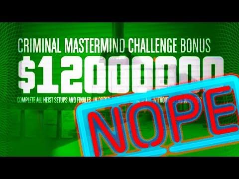 GTA V Criminal Mastermind FAILS