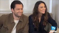 Richard Rankin and Sophie Skelton @ funny and adorable moments in interviews