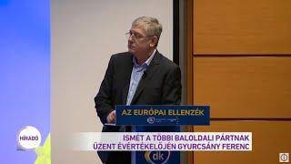 Ismét a többi baloldali pártnak üzent évértékelőjén Gyurcsány Ferenc