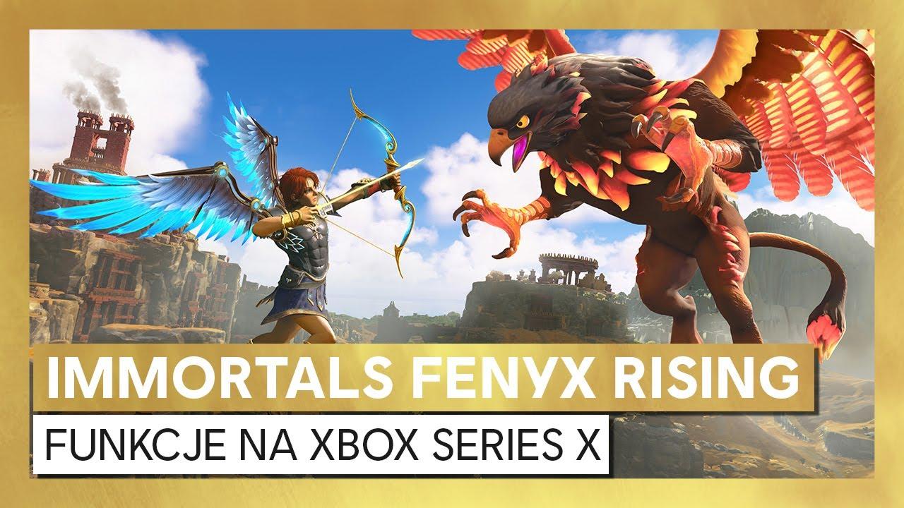 Immortals Fenyx Rising – prezentacja funkcji na Xbox Series X