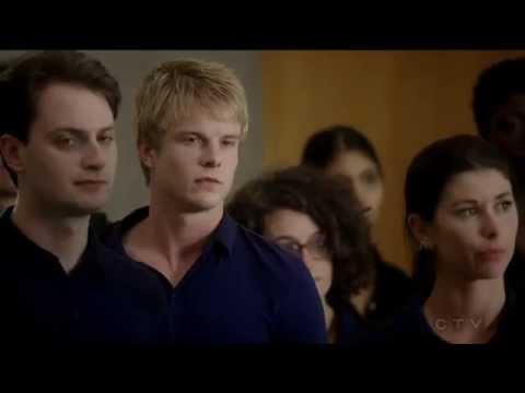 Rick Cosnett 1 Elias Harper & Simon Asher gay espionage  Quantico tv series