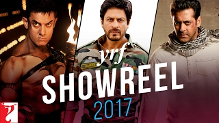 YRF Showreel - 2017 | Relive the Magic of Movies