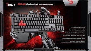 A4Tech Bloody B540 Обзор Механической клавиатуры