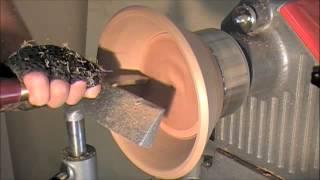 Segmented Woodturning - How To Turn A Fruit Bowl Video - Wood Lathe Methods - Part 3