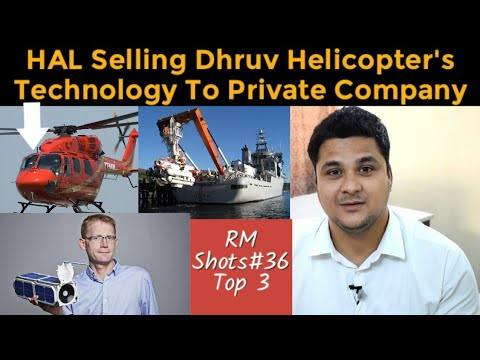 Top 3| HAL Selling Technology Of Dhruv Helicopter, ISRO Launching DOVE Satellites, DSRV