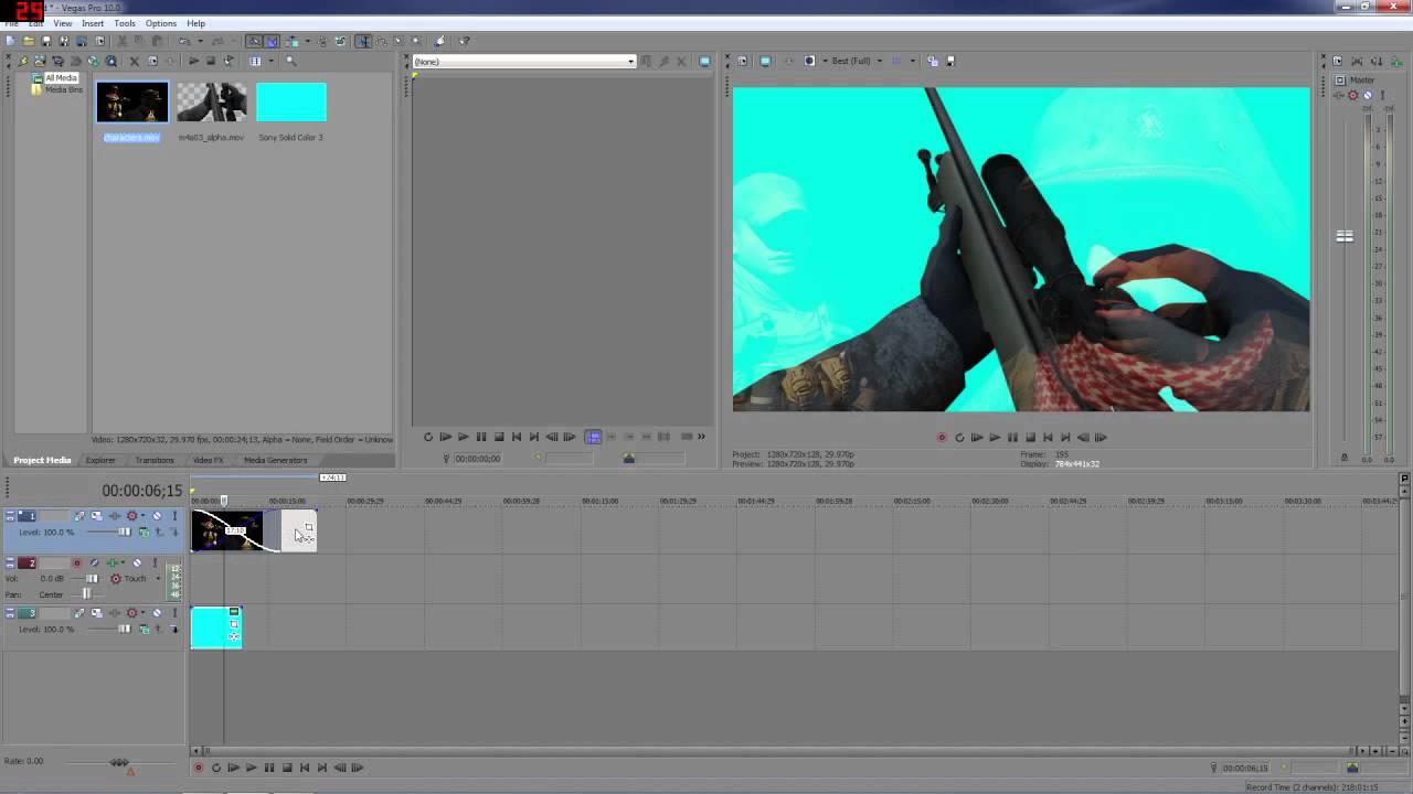 How to quick render sony vegas
