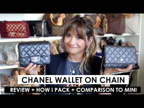CHANEL WOC REVIEW + WHAT'S IN MY BAG / HOW I PACK + COMPARISON TO MINI